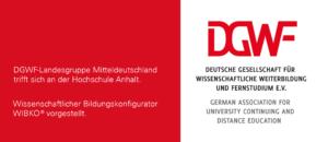 DGWF traf sich an der Hochschule Anhalt, WIBKO vorgestellt