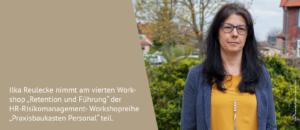 """Ilka Reulecke nimmt am vierten Workshop """"Retention und Führung"""" der HR-Risikomanagement-Workshopreihe """"Praxisbaukasten Personal"""" an der Hochschule Harz in Wernigerode teil."""