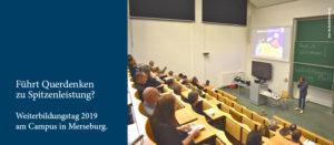 Weiterbildungstag 2019 am Campus Merseburg