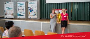 """trotz der Außentemperaturen von über 30 Grad Celsius kamen die geladenen Gäste am 19. Juni 2019 in die Mensa der Hochschule Anhalt am Campus Köthen zur Veranstaltung """"Fachkräftegewinnung 4.0"""