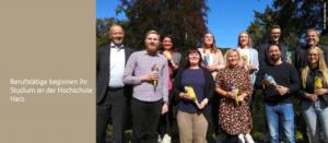 Berufstätige beginnen ihr Studium an der Hochschule Harz
