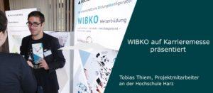 WIBKO auf Karrieremesse präsentiert