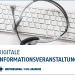 digitale Informationsveranstaltung an der Hochschule Merseburg