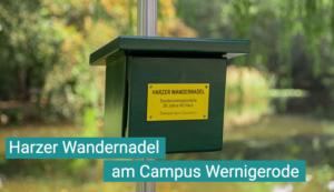 Ein Sonderstempel wurde nun anlässlich des 30. Geburtstag der Hochschule Harz auf dem Wernigeröder Campus aufgestellt.