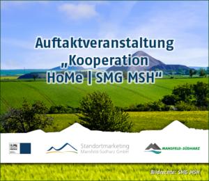 Auftakt zur Rahmenkooperationsvereinbarung für eine koordinierte Zusammenarbeit der SMG MSH und der HoMe